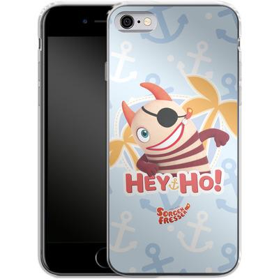 Apple iPhone 6s Silikon Handyhuelle - Sorgenfresser Hey Ho von Sorgenfresser