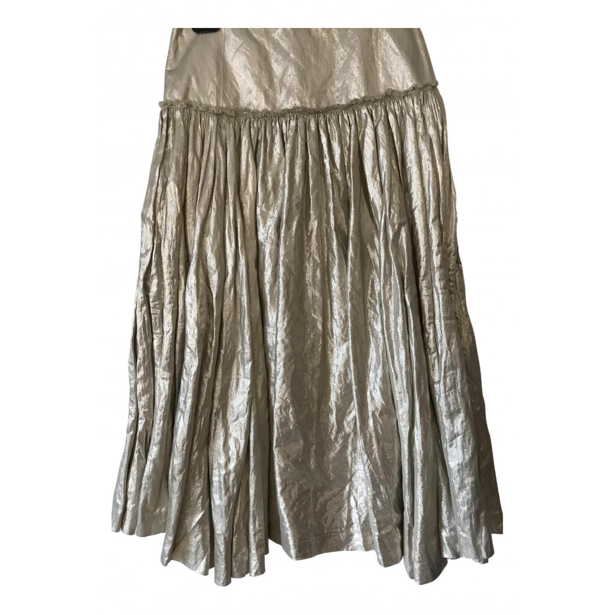Jean Paul Gaultier - Jupe   pour femme en coton - dore