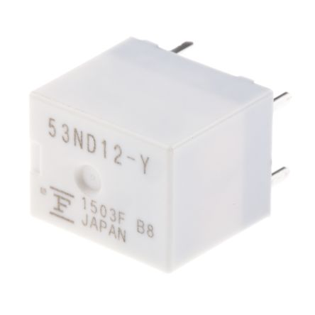 Fujitsu , 12V dc Coil Automotive Relay SPST, 30A Switching Current PCB Mount
