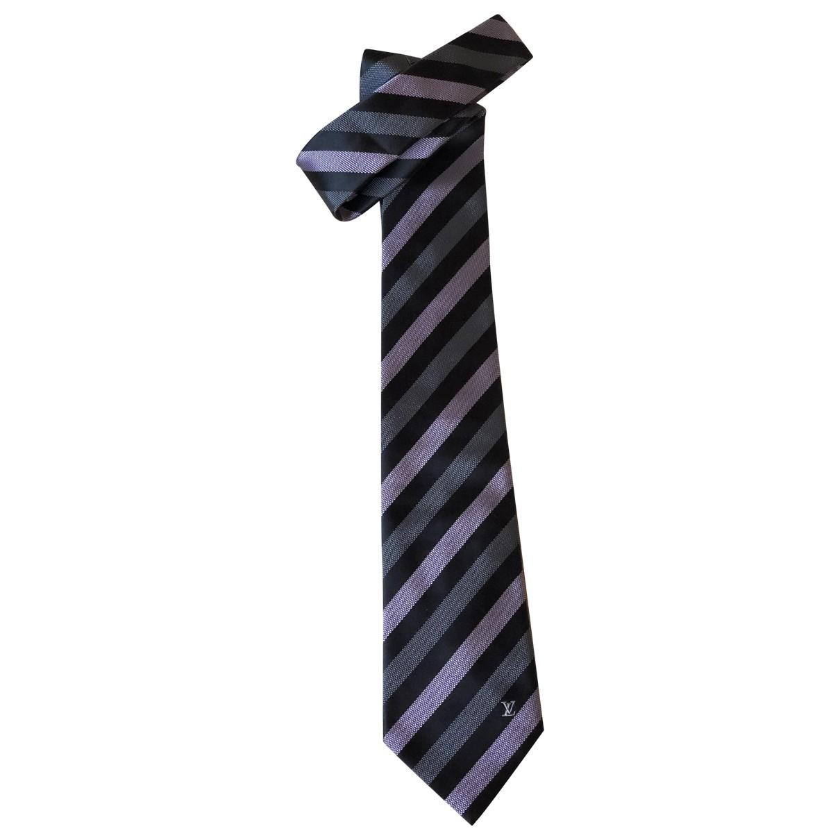 Louis Vuitton \N Krawatten in  Bunt Seide