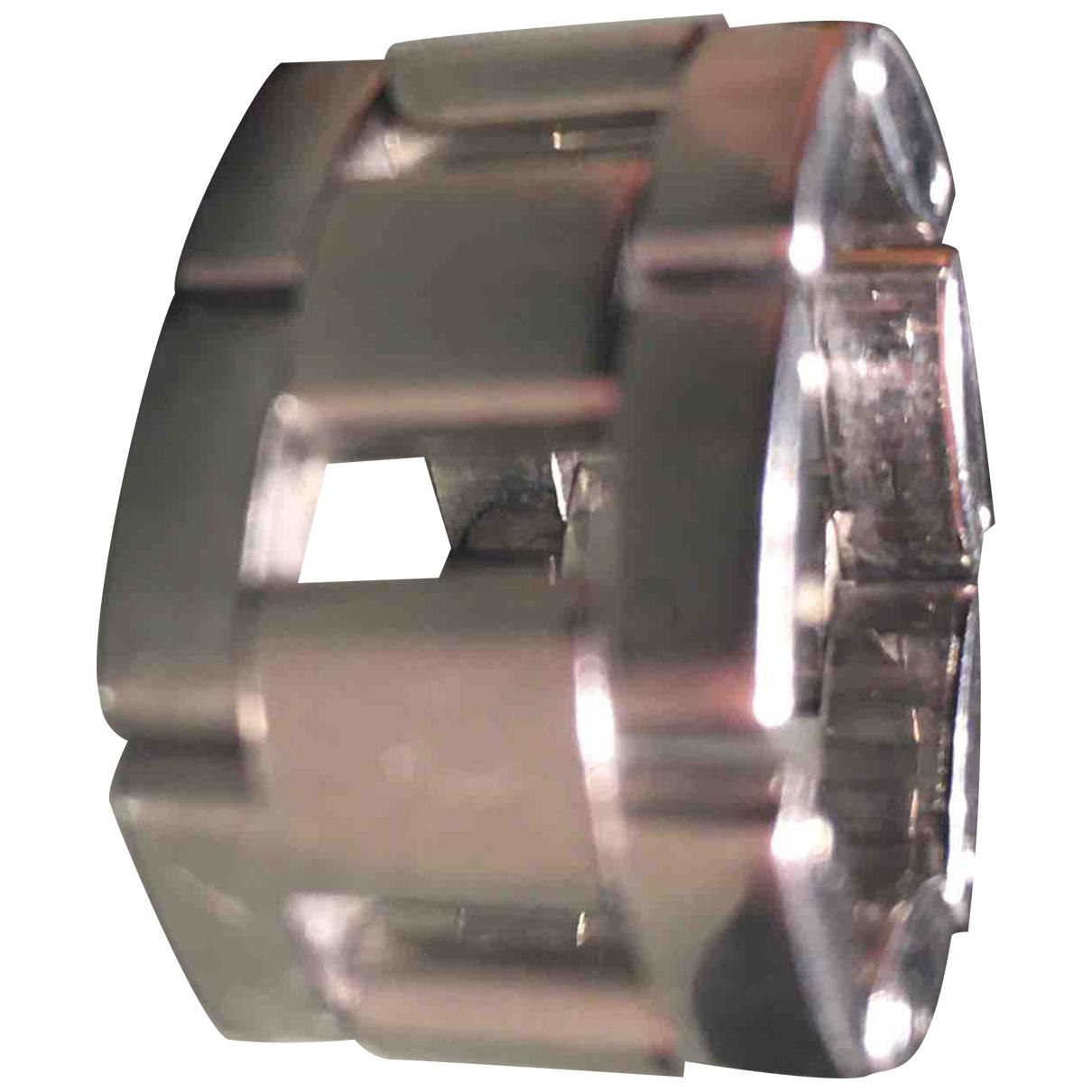 Calvin Klein \N Ring in  Silber Stahl