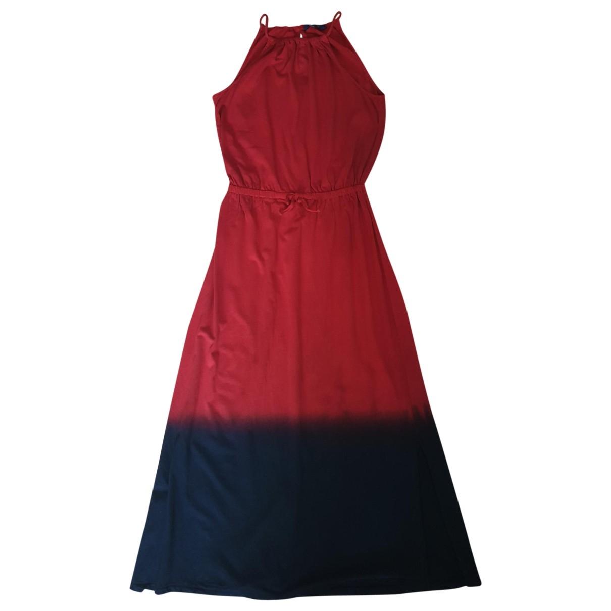 Polo Ralph Lauren \N Red Cotton dress for Women L International