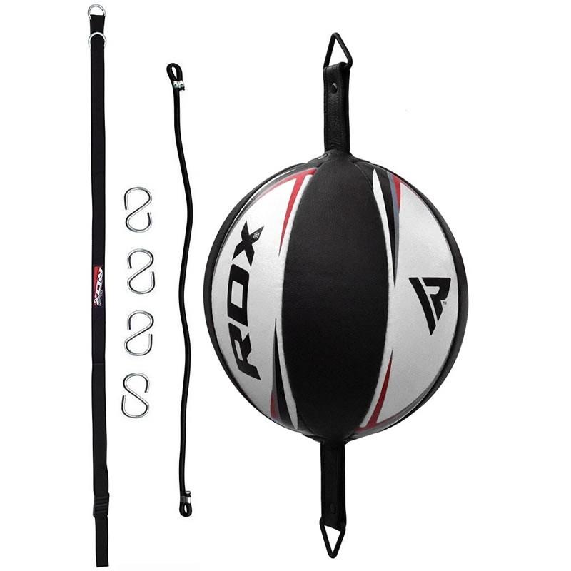 RDX R3 Cuir Ballon de Frappe Double Corde