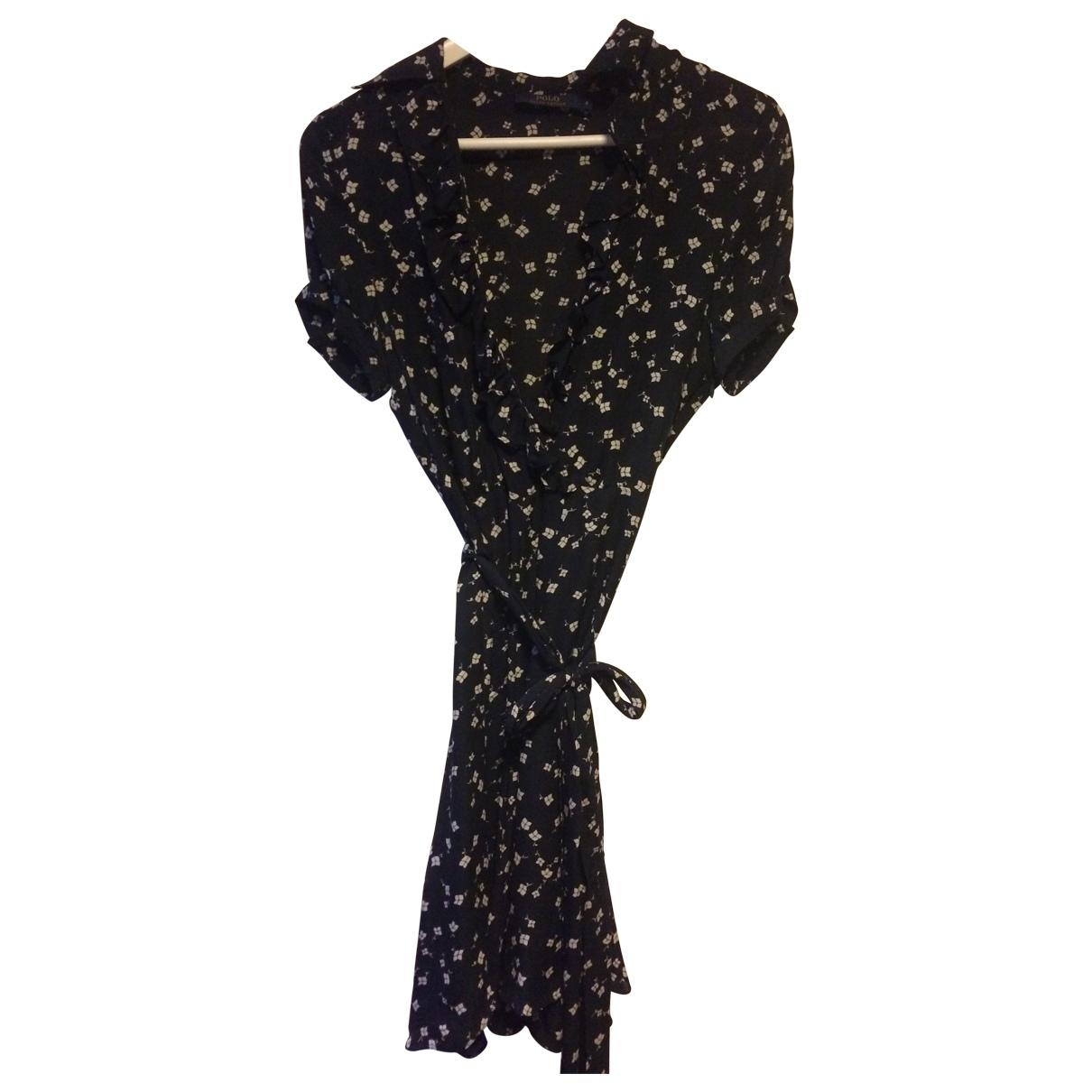 Polo Ralph Lauren \N Navy Silk dress for Women 4 US
