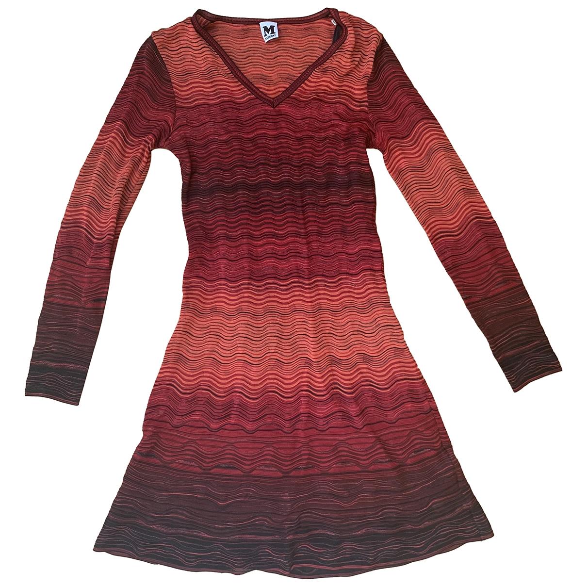 M Missoni \N Red dress for Women 40 IT