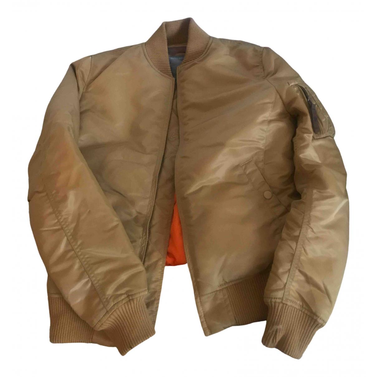 Alpha Industries \N Beige jacket for Women M International