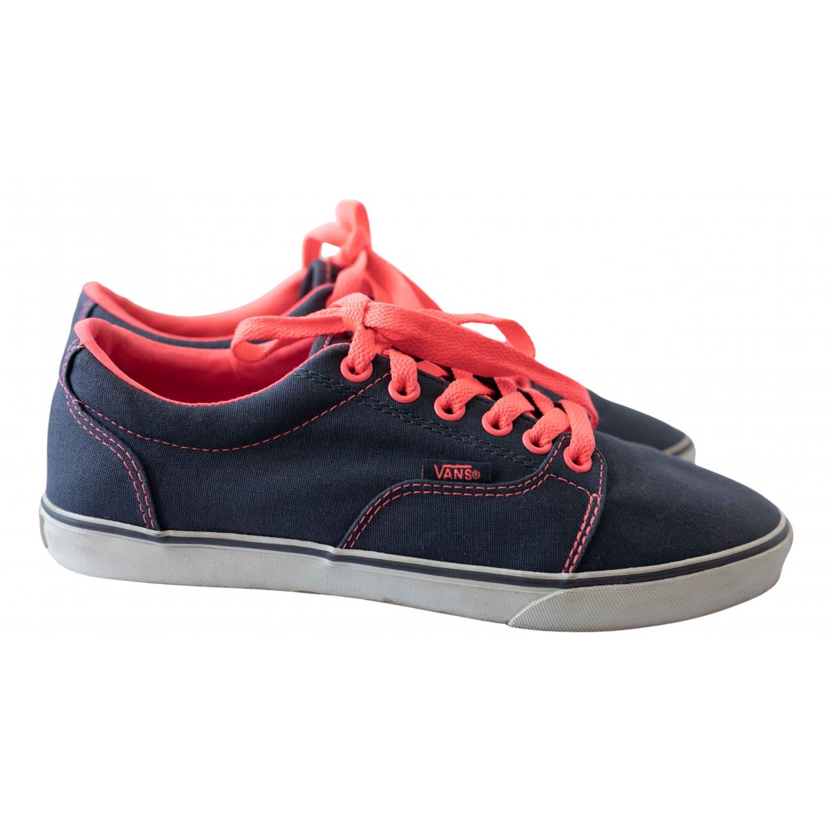 Vans \N Espadrilles in  Marine Denim - Jeans