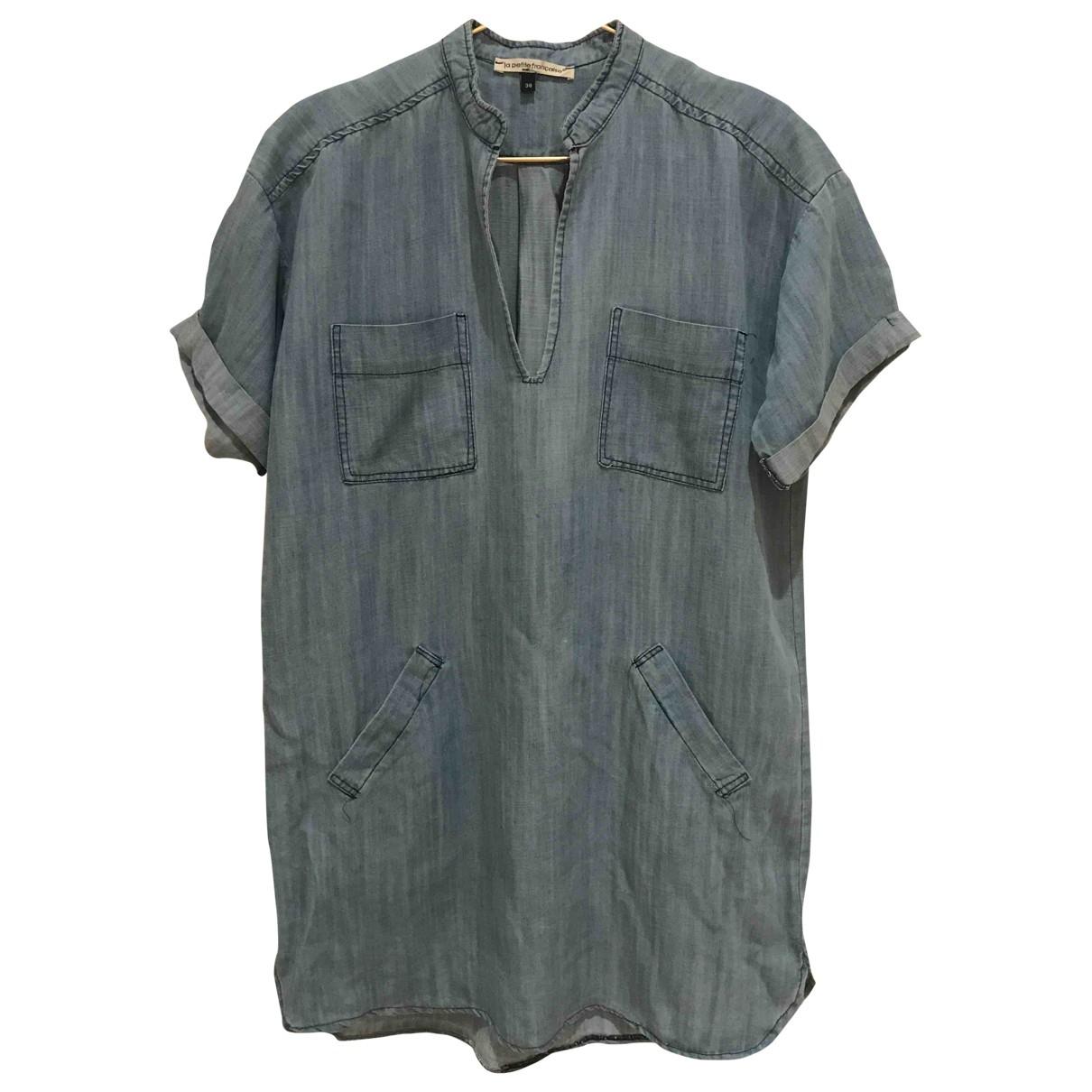 La Petite Francaise \N Kleid in  Blau Denim - Jeans