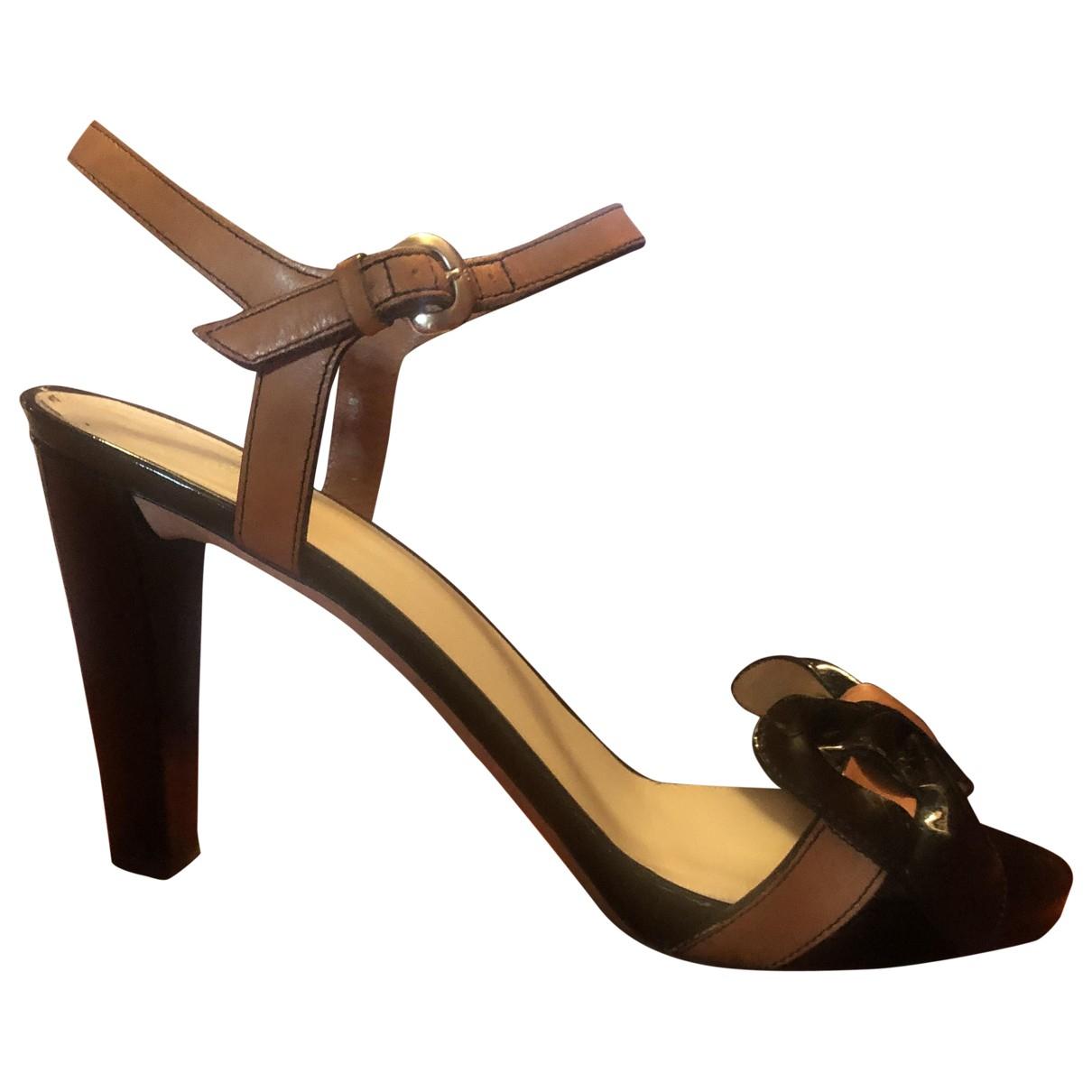 Sandalias de Charol Armani Collezioni