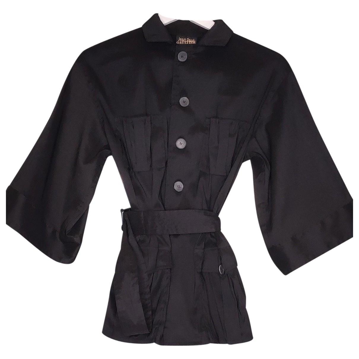 Jean Paul Gaultier \N Black jacket for Women 40 FR