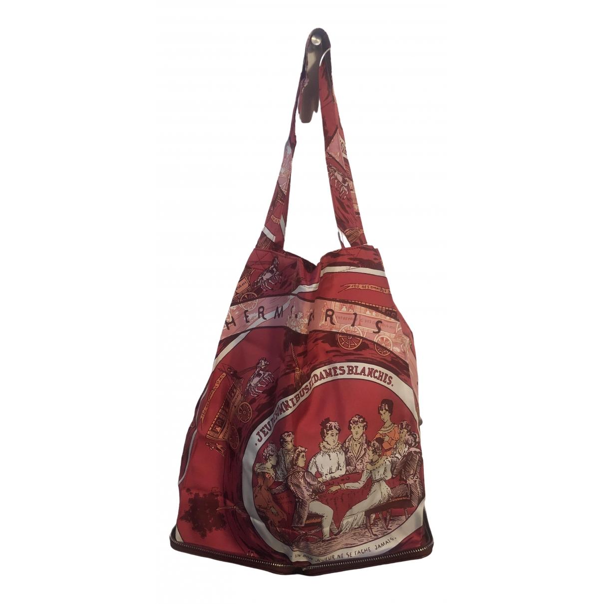 Hermès Silky Pop Red Silk handbag for Women \N