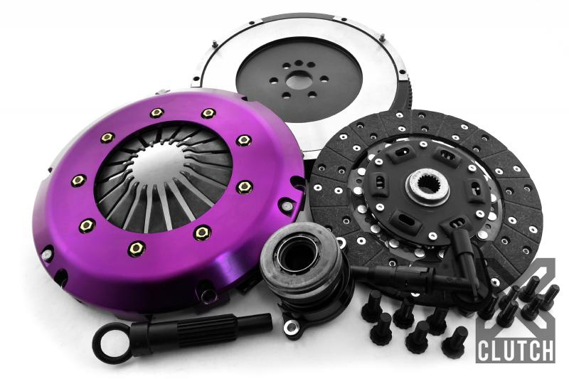 XClutch XKFD24639-1A Clutch Kit with Chromoly Flywheel + HRB Stage 1 Single Sprung Organic Disc Ford 1.6L 4-Cylinder