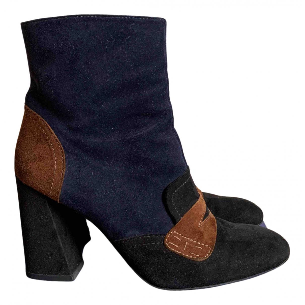 Stuart Weitzman N Suede Ankle boots for Women 41 EU