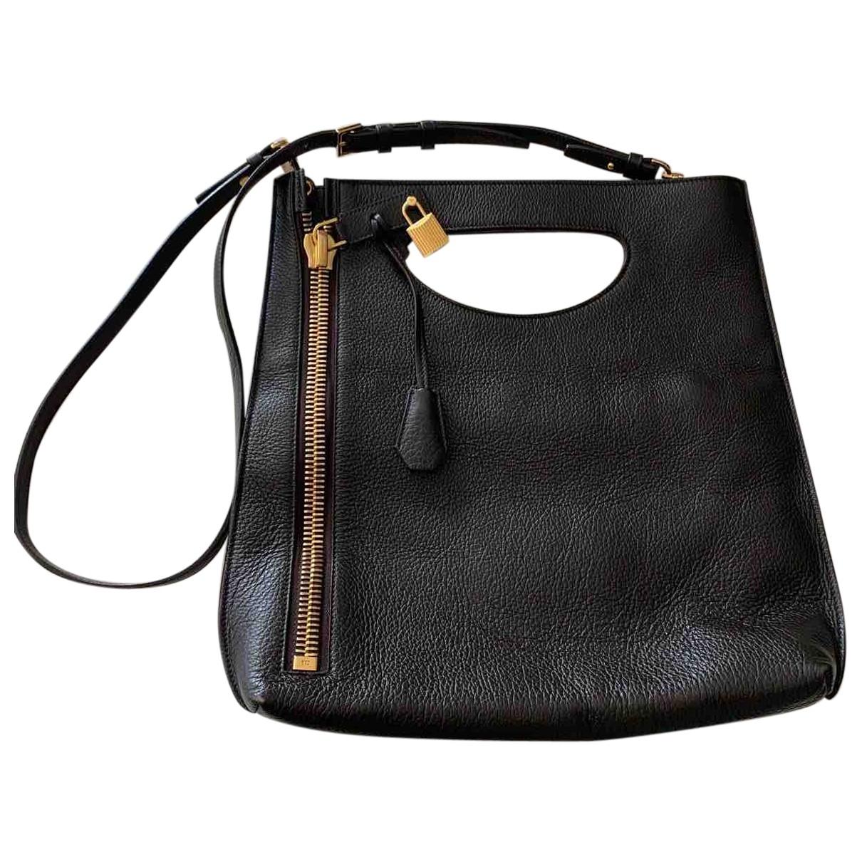 Tom Ford \N Handtasche in  Braun Leder