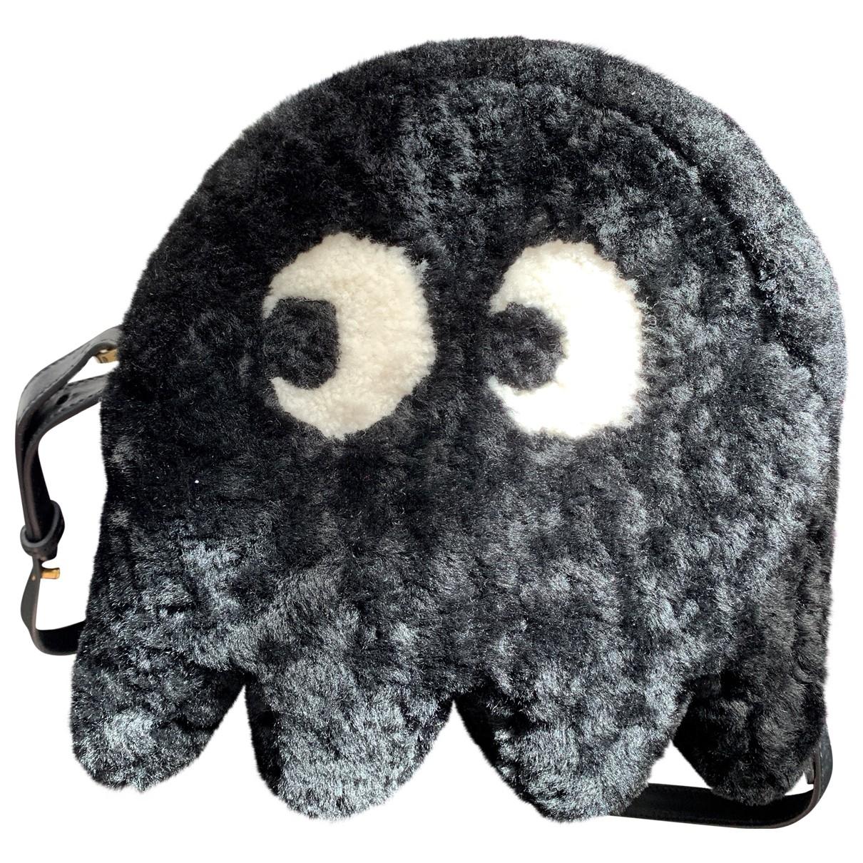 Anya Hindmarch \N Black Shearling handbag for Women \N