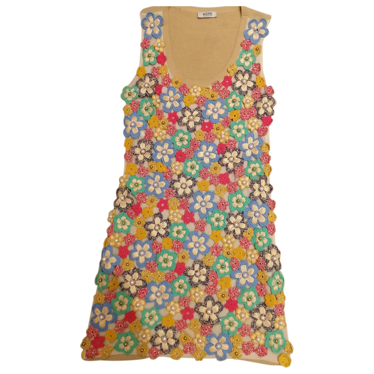 Moschino Cheap And Chic N Multicolour Cotton dress for Women 10 UK