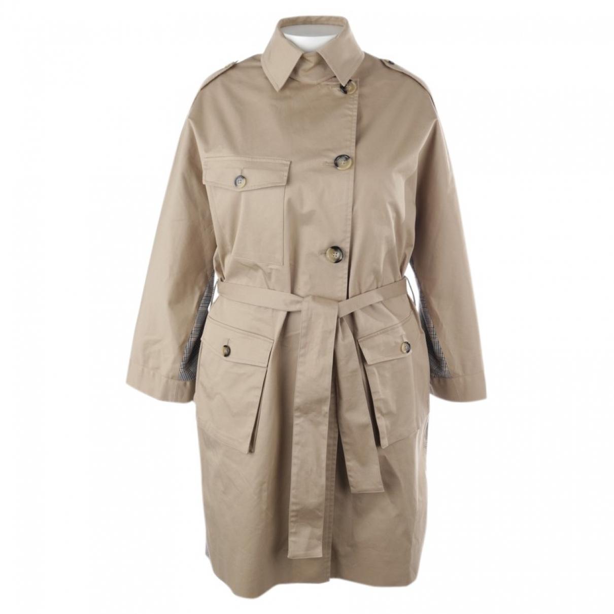 The Kooples - Veste   pour femme en coton - beige