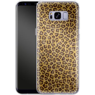 Samsung Galaxy S8 Plus Silikon Handyhuelle - Leopard Skin von caseable Designs