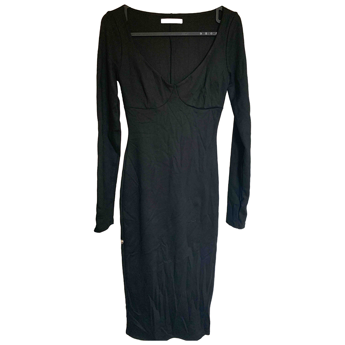 Reformation \N Black Cotton dress for Women S International