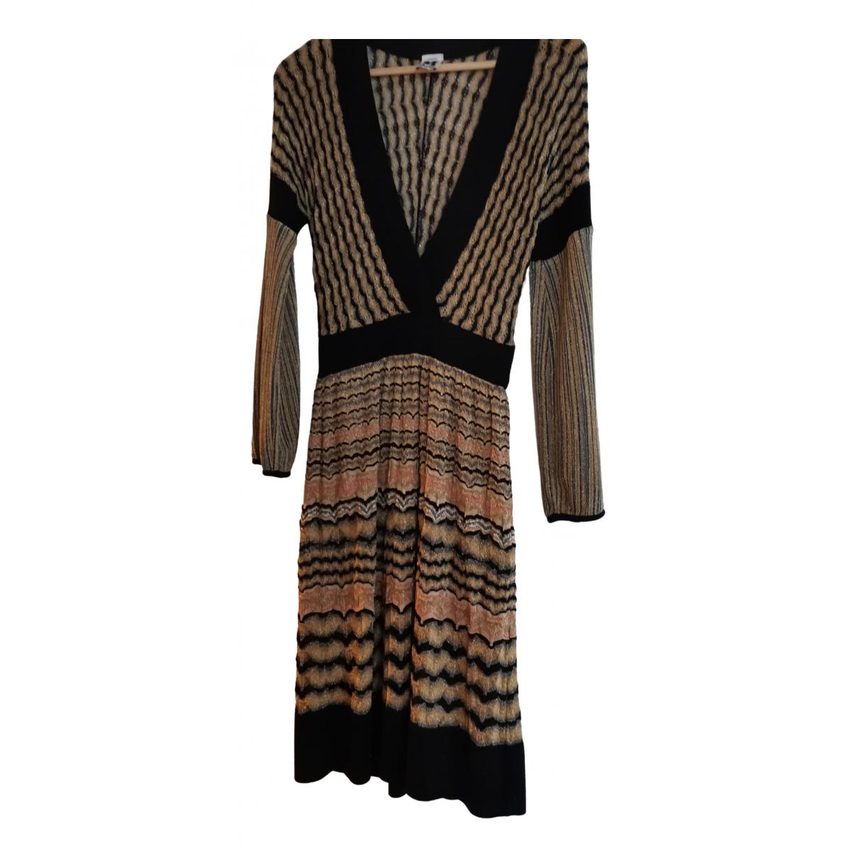 M Missoni N Multicolour Wool dress for Women 42 IT