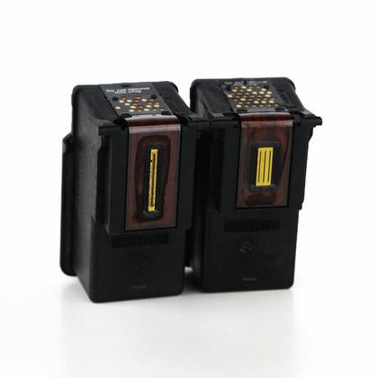 Compatible Canon PG-210XL/CL-211XL cartouches encre noire et couleur de Moustache, ensemble de 2 paquet - haut rendement de PG-210/CL-211