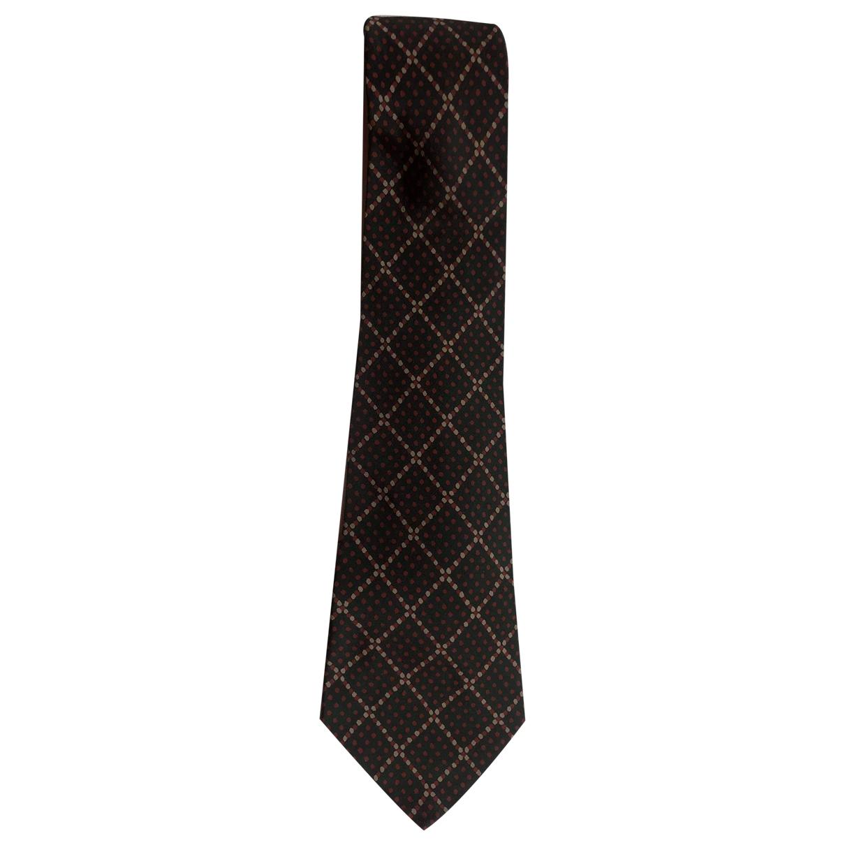 Yves Saint Laurent \N Krawatten in  Gruen Seide