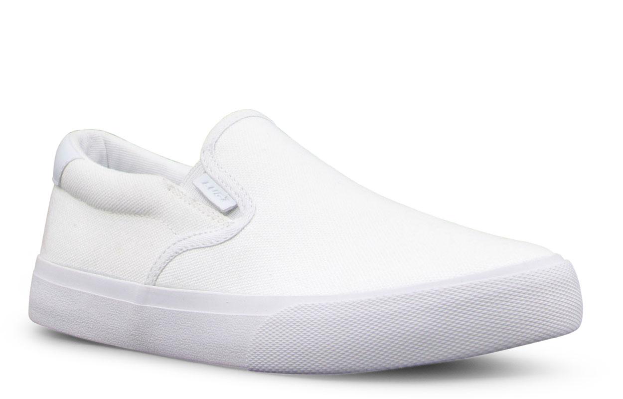 Gradeschool Clipper Oxford Sneaker (Choose Your Color: WHITE, Choose Your Size: 4.5)