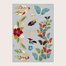 1pc Butterfly Pattern Tattoo Sticker