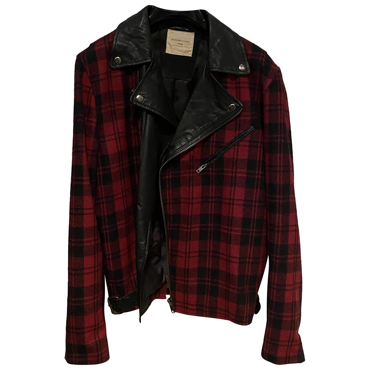 Selected N Leather jacket  for Men L International