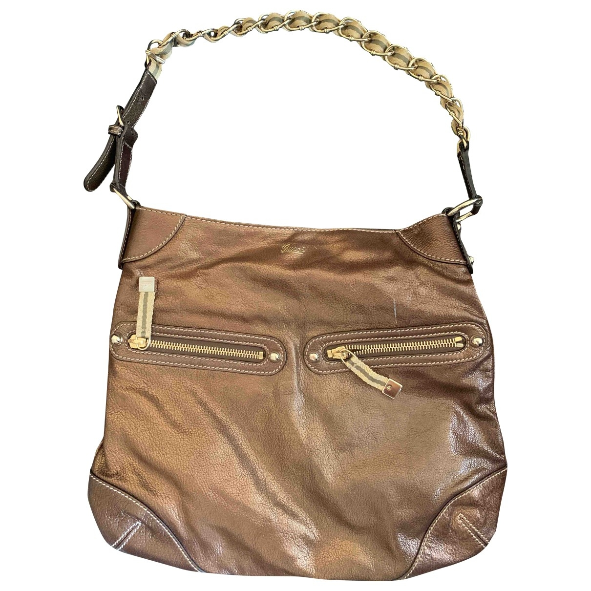Gucci \N Metallic Leather handbag for Women \N