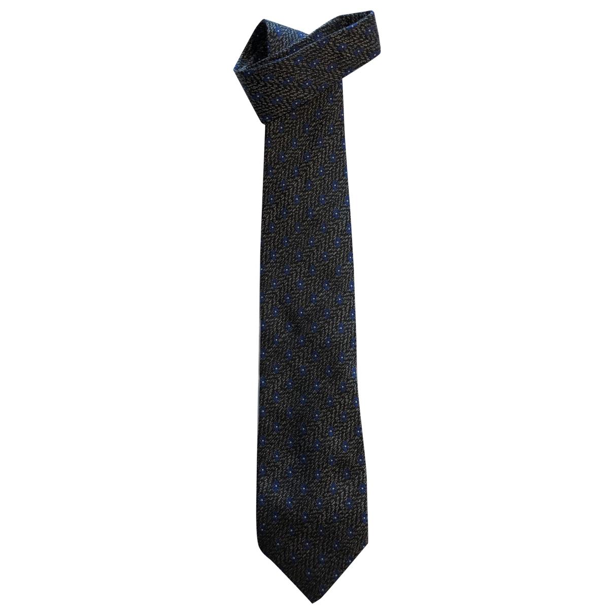 Kenzo \N Black Silk Ties for Men \N