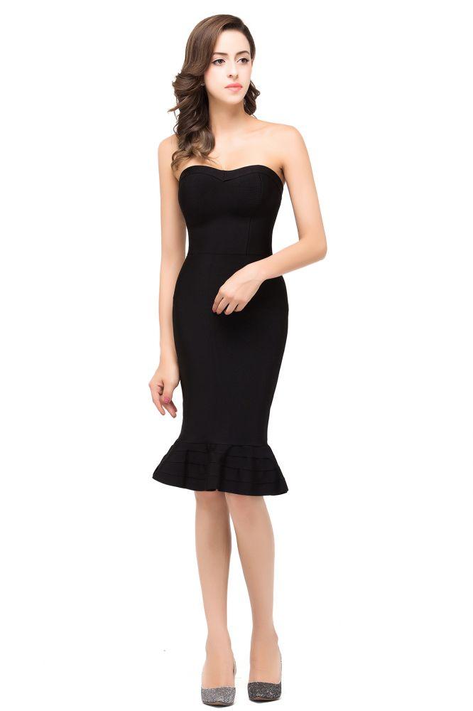 Petite Sirene Sans Bretelles Petites Robes Noires