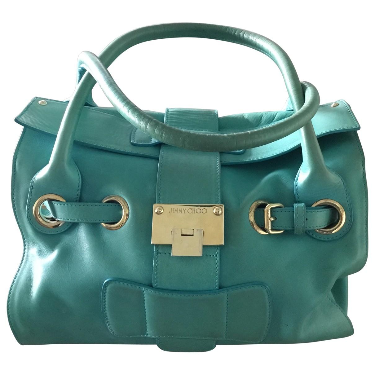 Jimmy Choo \N Turquoise Leather handbag for Women \N
