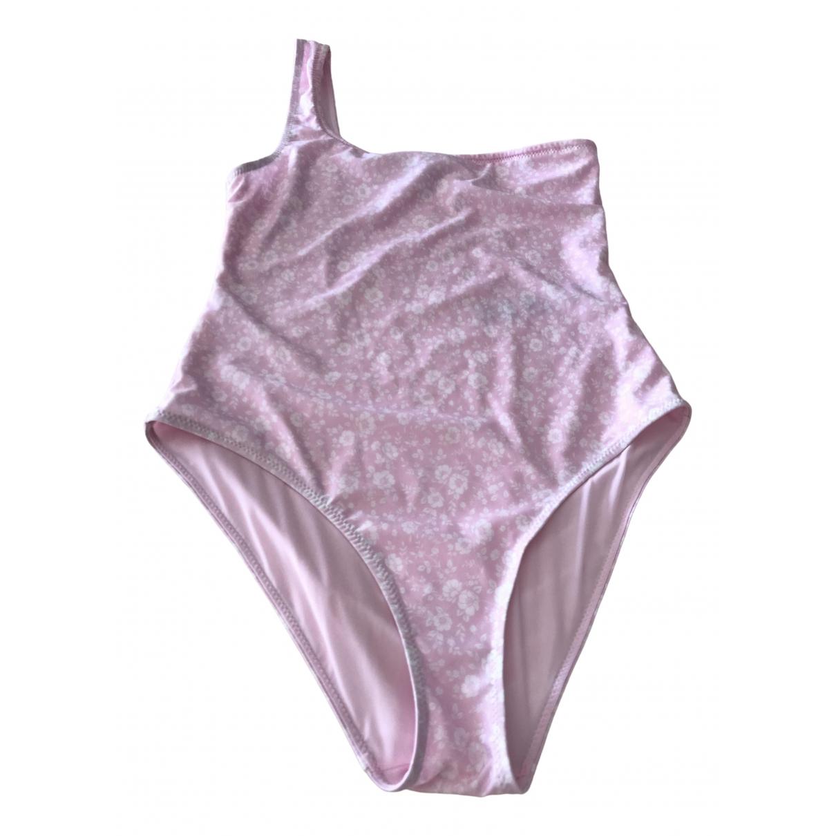 Ganni - Bain Spring Summer 2020 pour femme - rose