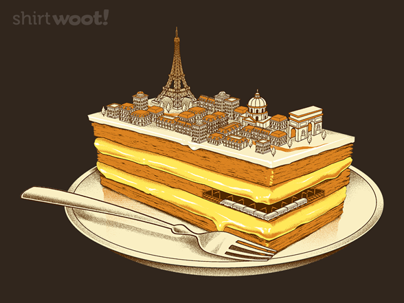 Hungry For Travels: Slice Of Paris T Shirt