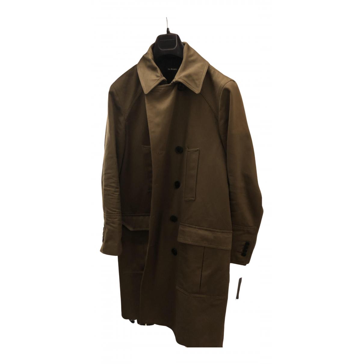 The Kooples N Khaki Cotton coat  for Men 48 FR