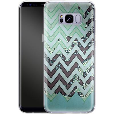 Samsung Galaxy S8 Plus Silikon Handyhuelle - Electric Ink von caseable Designs