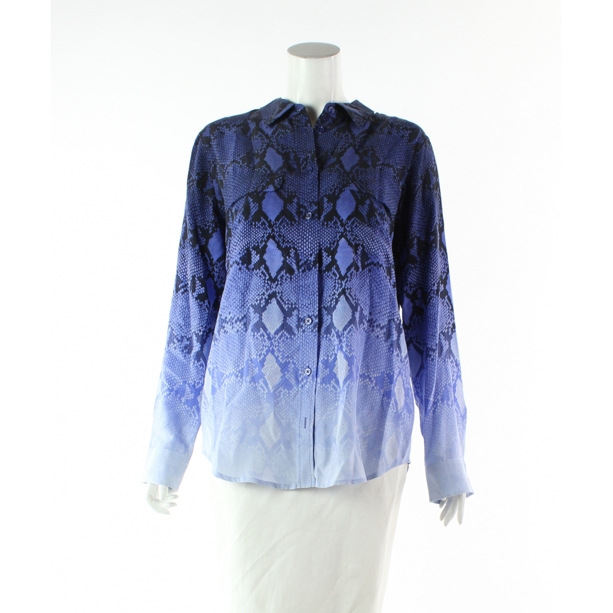 Equipment \N Blue Silk  top for Women M International