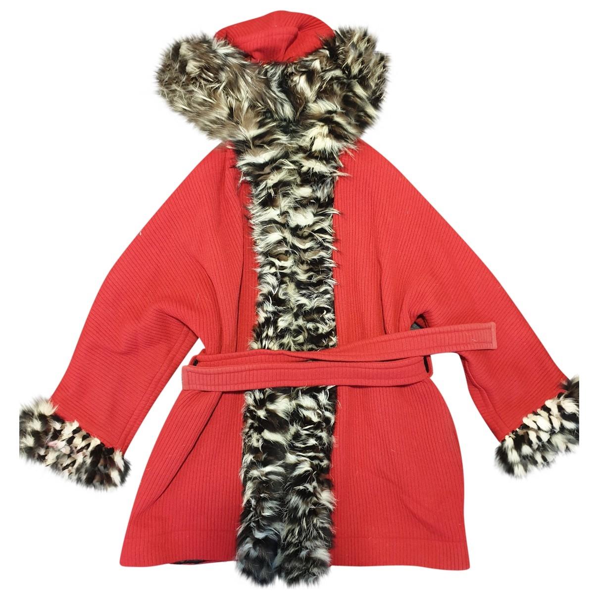 Yves Saint Laurent \N Red Fox coat for Women 40 FR