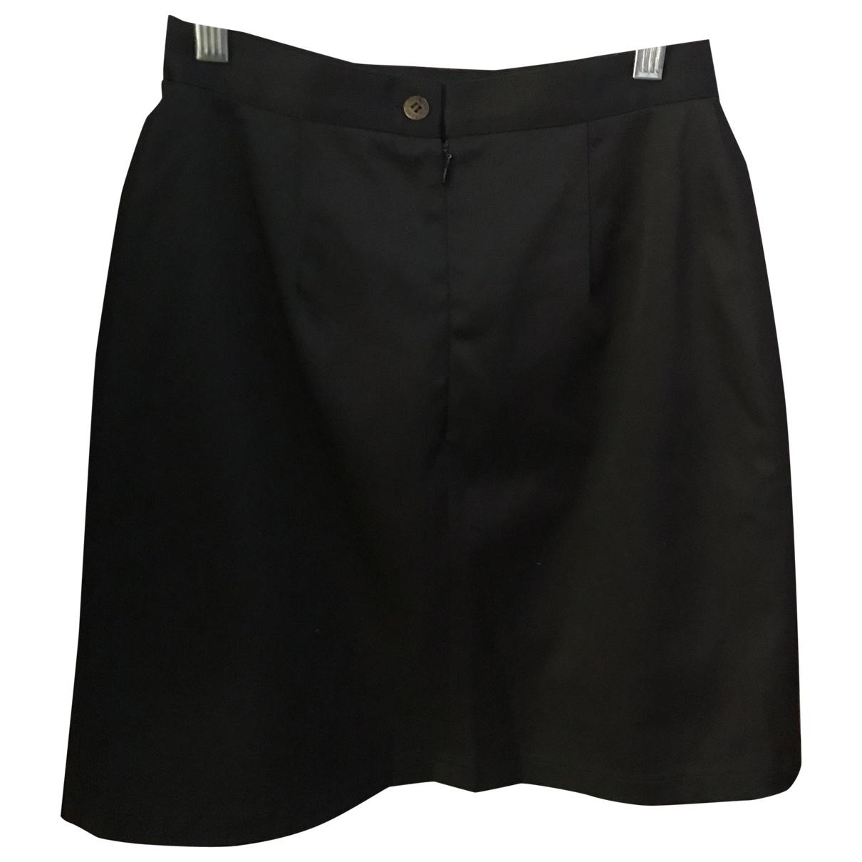 Kenzo - Jupe   pour femme en coton - elasthane - noir