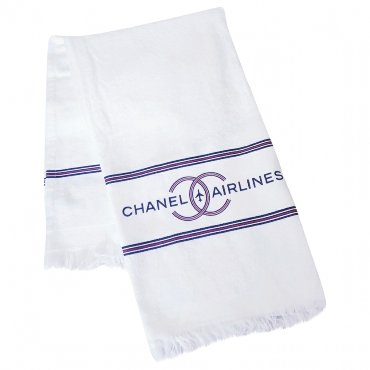 Chanel \N White Cotton Textiles for Life & Living \N