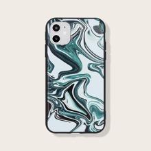 Funda de iphone con estampado de marmol