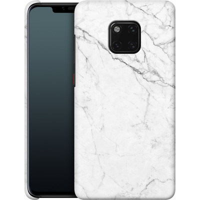 Huawei Mate 20 Pro Smartphone Huelle - White Marble von caseable Designs