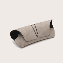 Men Simple Glasses Case