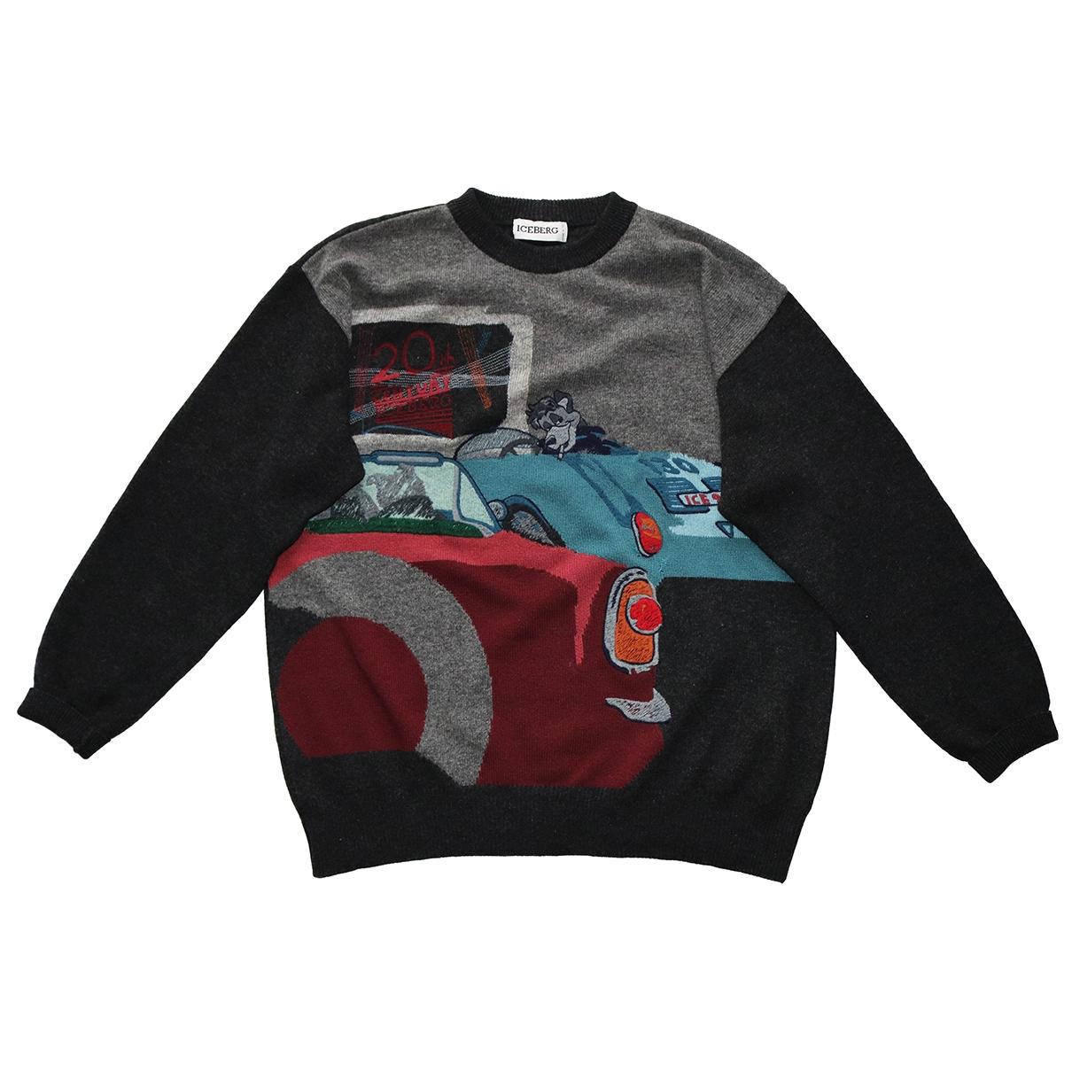 Iceberg \N Pullover.Westen.Sweatshirts  in  Bunt Wolle