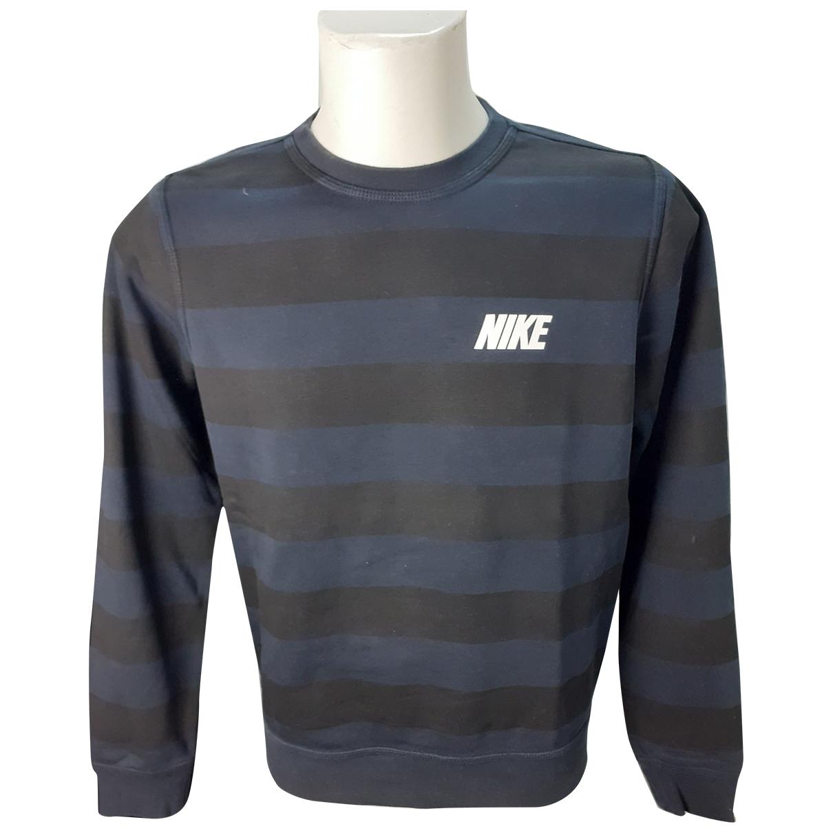 Nike - Pulls.Gilets.Sweats   pour homme en coton - bleu