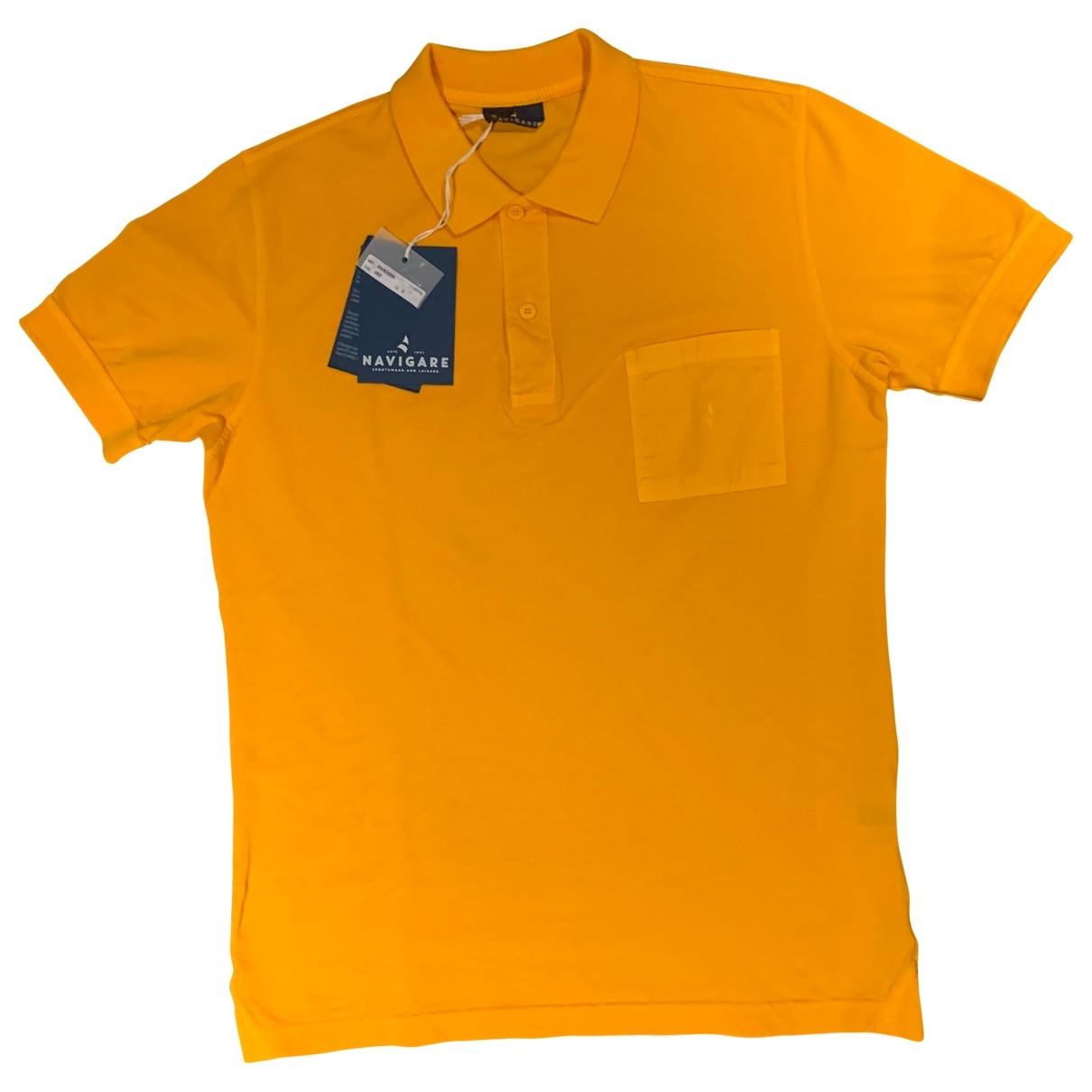 Polo en Algodon Amarillo Non Signe / Unsigned