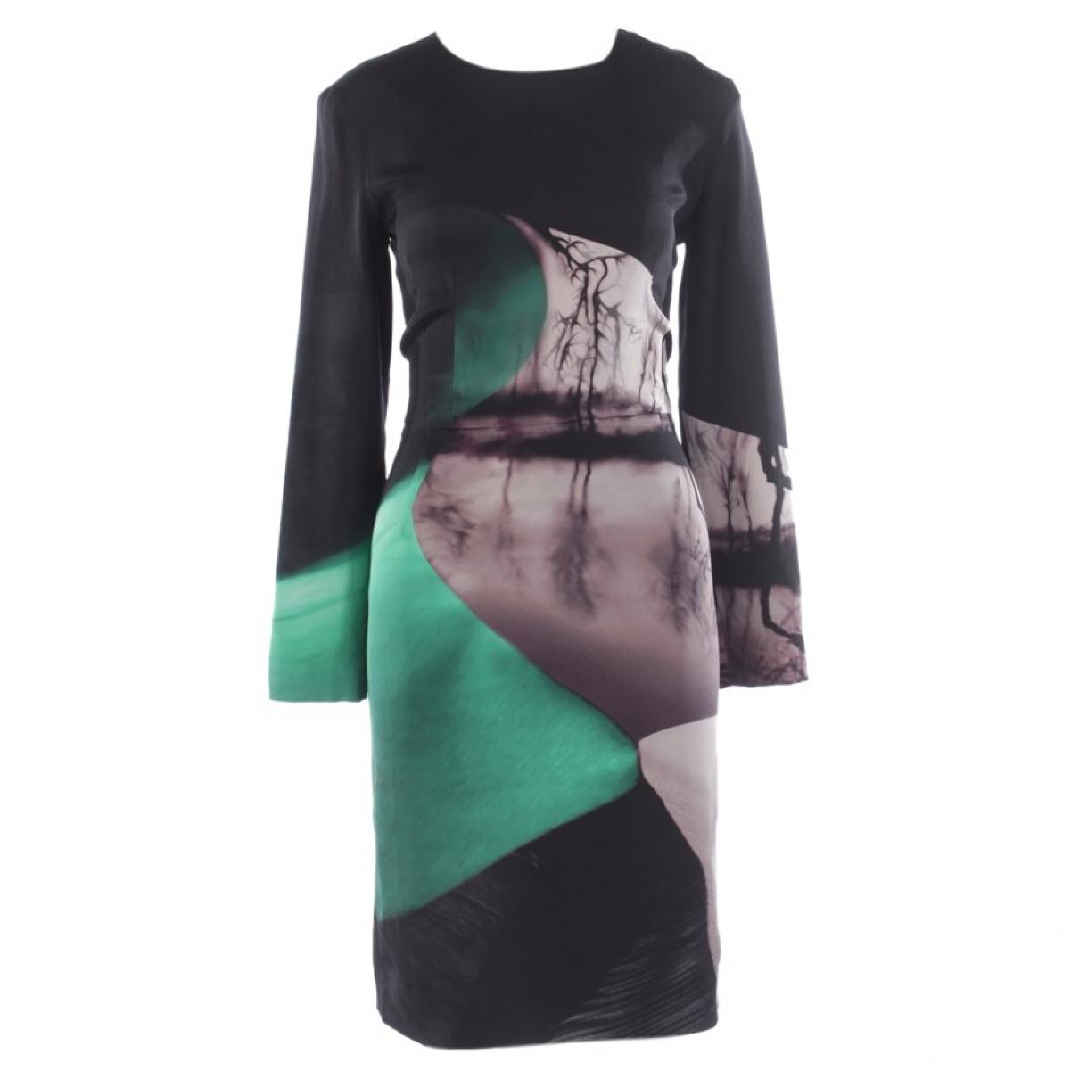 Mary Katrantzou \N Kleid in  Bunt Seide