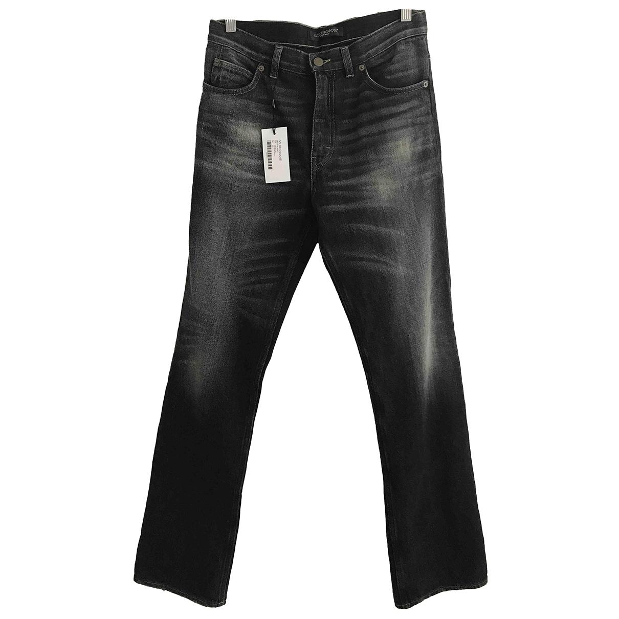 Golden Goose \N Black Cotton Jeans for Men 38 - 40 FR