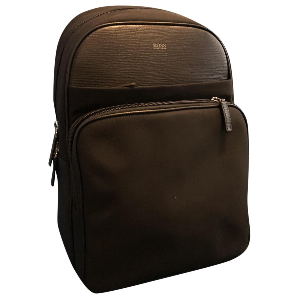 Hugo Boss \N Black backpack for Women \N